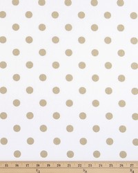 Polka Dot White Athena Gold by