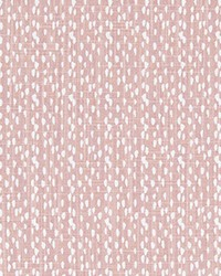 Pink Abstract Fabric  Riverbed Blush Slub Canvas