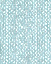 Blue Abstract Fabric  Riverbed Cancun Slub Canvas