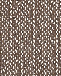 Brown Abstract Fabric  Riverbed Pecan Slub Canvas
