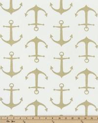 Gold Boats and Sailing Fabric  Sailor Athena Gold