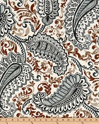 Beige Classic Paisley Fabric  Shannon Caramel Macon