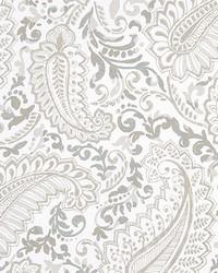 Beige Classic Paisley Fabric  Shannon Ecru