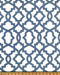 Grey Trellis Diamond Fabric  Sheffield Cashmere Blue