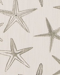 Sea Shell Fabric Starfish Castle Luxe Linen