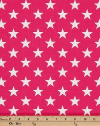 Premier Prints Stars Candy Pink Fabric
