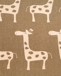 Jungle Safari Fabric  Stretch Maple Natural