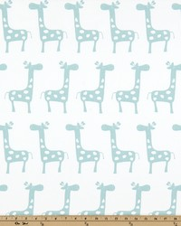 White Jungle Safari Fabric  Stretch White Canal Twill