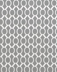 Grey Circles and Swirls Fabric  Sydney Ash Slub