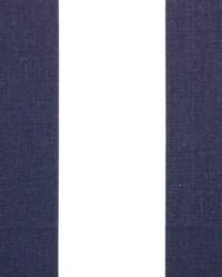 White Wide Stripe Fabric  Vertical Blue White