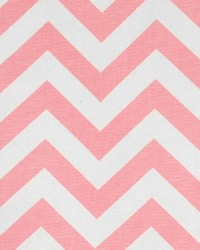 Zigzag Baby Pink White by