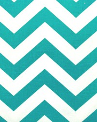 Zigzag True Turquoise by