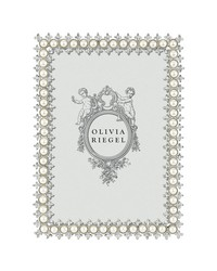Crystal  Pearl 5 x 7 Frame  by