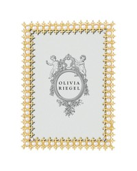 Gold Crystal  Pearl 5x7 Frame by