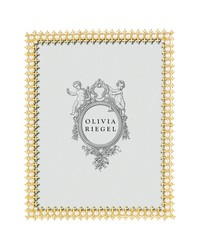 Gold Crystal  Pearl 8x10 Frame by