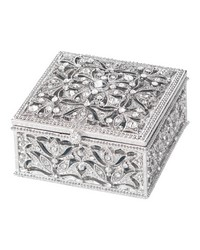 Silver Luxembourg Square Box Silver by