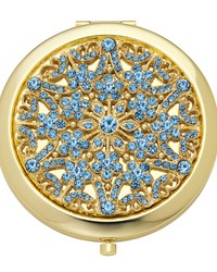 December  in Blue Topaz in  Compact by