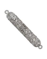 Silver Windsor 4.5in Mezuzah Silver by