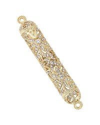 Gold Windsor 4.5in Mezuzah  Gold by