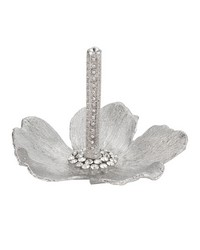 Silver Botanica Ring Holder Silver by