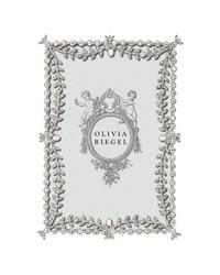 Silver Kensington 4 x 6 Frame by