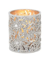 Silver Windsor Tealight Holder by