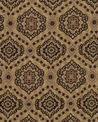 Brown Suzani Fabric  Moors Valley Golden Pecan