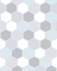 Hexagon Window Film by