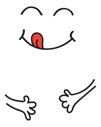 Happy Face Wall Decals by  Brewster Wallcovering