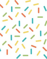 Sprinkle Rainbow Wall Art Kit by  Brewster Wallcovering