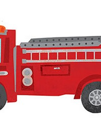Fire Station Wall Art Kit by  Brewster Wallcovering