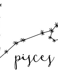 Pisces Wall Art Kit by