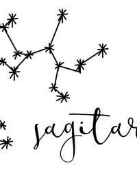 Sagittarius Wall Art Kit by