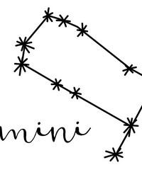 Gemini Wall Art Kit by