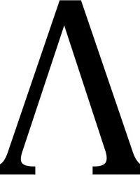 Lambda Wall Decal by