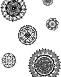 Morocco Medallions Wall Art Kit by