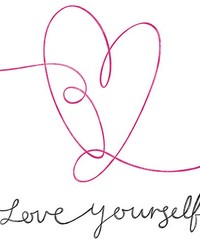 Love Yourself Wall Art Kit by