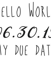 Due Date Wall Quote by  Brewster Wallcovering
