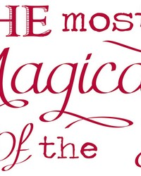 Magical Holiday Wall Stickers by