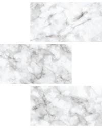 Subway Carrara Peel & Stick Backsplash Tiles by