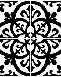 Avignon Peel & Stick Backsplash Tiles by