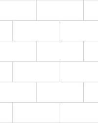 Metro Tile Peel & Stick Backsplash by  Brewster Wallcovering
