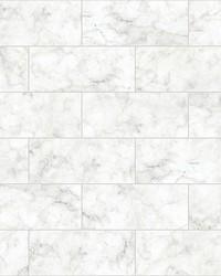 Marble Tile Peel & Stick Backsplash  by  Brewster Wallcovering