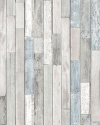Weathered Plank Shore Peel & Stick Wallpaper by