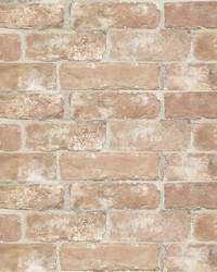 Old Town Brick Peel & Stick Wallpaper by