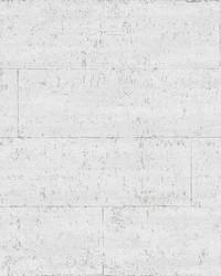 White Urban Concrete Self Adhesive Wallpaper by