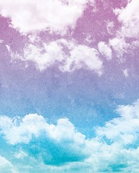 Grunge Sky Wall Mural by