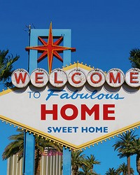 Welcome to Vegas Wall Mural by