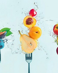 Take a Bite of Fruit Wall Mural by