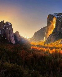 Yosemite National Park USA Wall Mural by